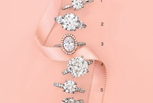 Engagement Ring Inspiration / Halo, Pave, Trilogy... Pretty SPARKLES. / by May Smith