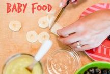 Baby Food Recipes / Look here for the top homemade baby food recipes. / by Albee Baby - Baby Products & Gear