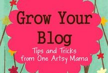 Blogging Tips / Great ideas to grow your blog, Pinterest, Twitter , etc