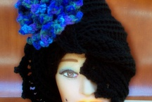 Rose Crochet Cloche Hats / Women and babies in crochet cloche hats have always looked good since the 1920's. Some hats have a rose, flower, etc. Others look good plain. Make one for winter and every other season.  / by Strawberry Couture Etsy Unique Crochet and Knit Hats Scarves Patterns