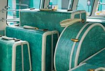 On the Road / Travel Trailers, especially vintage, cheerful and small, make us smile.