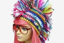 Other Great Crochet Hat Artists by Concupiscence / I dedicated this board to Concupiscence. This is a great board of unusual crochet hat designers found by her. / by Strawberry Couture Etsy Unique Crochet and Knit Hats Scarves Patterns