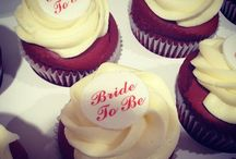Hen's party or Kitchen tea cupcakes