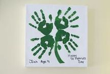 Color Me Green / St. Patrick's Day crafts for kids, green food ideas, rainbow cake and all kinds things to help you celebrate St. Patrick's Day.