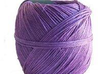 Hemp Twine / Amazon.com offer a bigger selection of colors http://bit.ly/AmazonHempTwine | create crafts of | hemp twine | hemp twine crafts | hemp twine macrame | hemp twine bracelets | hemp twine diy | Hemp Twine | Kourtney's Crafts Hemp Twine | Crochet Hemp Twine |