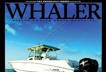 Whaler Magazine / A collection of Boston Whaler lifestyle magazines. Sign up to receive future issues of Whaler magazine here:  http://bit.ly/BWMagazineSignUp