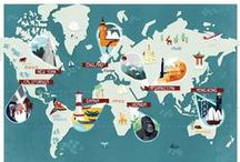 Maps / by Shannon Craver Creative