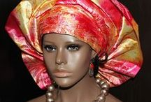 Gele / African gele styles are head wraps from Nigeria. How to tie and wrap a gele african head wrap. Wear them with igbo clothing when attending an African traditional bella naija wedding glee | gele head wrap | African Gele Styles | Gele Head Ties for Nigerian Weddings |