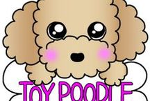 **【 LINE STICKERS 】The Toy Poodle stickers トイプーの巻 / In Toy Poodle stickers , and enjoy a talk together . →http://line.me/S/sticker/1142641 わんわんスタンプ第2弾!もこもこふわふわトイプースタンプで、さらにトークを楽しもう!