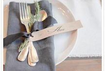Entertaining Table Idea's