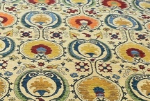 """Start with a Rug: Room 001 / A room decorated around a 100% Wool, Hand Knotted """"Suzani"""" rug. Awesome colors and design. 9.3 x 12.3 #80021797 / by NW Rugs and Furniture"""