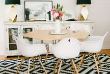 A Modern Mix / Rugs, furniture, art -  a variety of mid-century items / by NW Rugs and Furniture