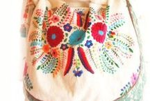Bags, bags, bags / Hand made wallets & purses & bags / by Nilufer Turk