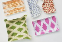 Trays and Home Products by Michael Devine / Wonderful trays, pillows and accessories made from hand printed Michael Devine fabrics. All items are made in the USA. Please visit michaeldevineltd.com for more information.