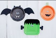 Ideas for Halloween with kids / We're getting into the Halloween spirit here at Little Devils Direct! Try some of our fun black and orange products to celebrate your October baby.
