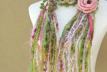 Neck Work / Scarves, warm, necklaces anything neck / by Marg Genio