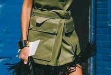 Green / How to wear Green, handbags, accessories, statement pieces, and beauty.