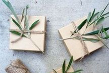Packaging / Envelopes, wrapping paper, twine, tags, and more darling packaging ideas for birthdays, holidays, Christmas, and everyday.