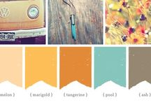 Living Room Color schemes / by Kristen McMartin