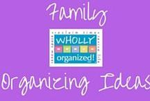 Family Organizing Ideas