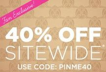LOVE a Sale! / Find exclusive promotions here & shop our products at: http://www.invitationbox.com/ / by InvitationBox