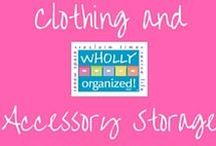 Clothing & Accessory Storage Ideas