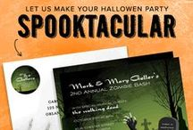Halloween Invitations / Some of our favorite Halloween invitations!  / by InvitationBox