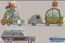Animation Related - Vehicles / Visual development and design, vehicles in animation
