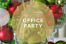 Holiday Office Party / 30 Days Of Holiday Party Ideas #office #business #corporate #holiday #party #invitation / by InvitationBox