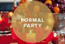Formal Holiday Party / Make it an affair to remember! #formal #holiday #party #invitation / by InvitationBox
