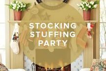 Stocking Stuffing Party / by InvitationBox