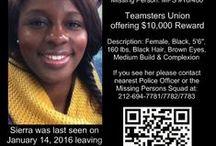 Find Sierra Shields - Missing Since January 14, 2016