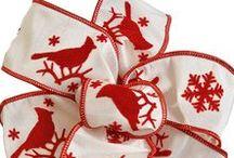 Specialty Fall & Winter Ribbon