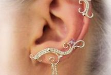 auffälige Ear-Cuffs