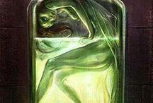 green fairy / by ❤️💋Michala Frank🎀🌺