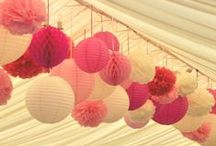 Wedding Ideas / Various ideas for wedding receptions, favors and other delights.