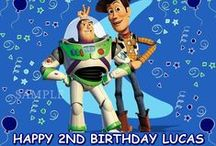 Partyin' With Buzz and Woody / by Amanda Alix