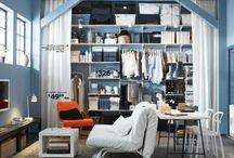 Small spaces organization