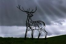 Land Art / Sculpture and built features in the landscape