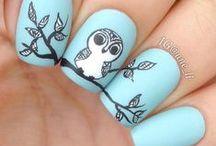 Lovely nail arts