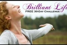 Brilliant Life! 30 Day Challenge / Discover how you can unleash your Brilliance in Mind, Body & Spirit - Go from Blocked to BRILLIANT in YOUR Life with this 30 day challenge. Start with the DAY ONE Pin & check back on a daily basis. Each day you will see a different pin sharing personal growth, positive mindset & motivational tips & strategies you can put into action in your life. Oh, and keep an eye out for the special bonus action guides I´ll be sharing for you to download as well - you won´t want to miss those!