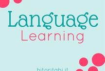 Language learning / Language learning | Study languages | Words | Language | Learning tips | Vocabulary | How to learn a language | Language learning resources