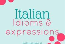 Italian idioms & expressions / Italian idioms | Italian expressions | Italian common phrases | Italian vocabulary | Learn Italian | Modi di dire italiani | Imparare l'italiano | Study Italian | Italian language