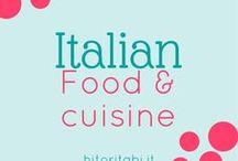 Italian food & cuisine / Italian cuisine | Italian food | Cibo italiano | Cucina italiana | Prelibatezze | Bevande italiane | Italian drinks | Italian desserts | Dolci | Vino | Pizza | Pasta | Salumi