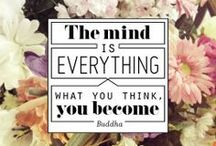 Think about it: Quotes and other things to contemplate / by Lauren Paints | a beautiful life