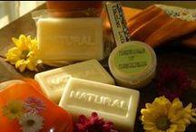 scrubs/soaps/herbs, etc.  (natural)
