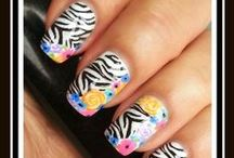 My nail art.....Inspired by lots of people!