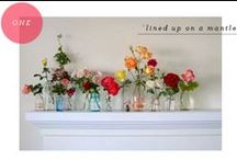 wildflowers/centerpieces/Easter