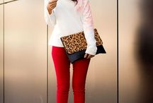 Style: Colored Skinnies / by Amber