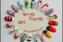 Mes nail art sur roue / by Cherry Nail Art (Aurore)